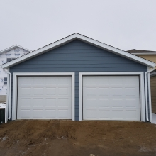 New Construction - Hardie Siding - Hardie Trims - Metal Cladding - Soffit - Fascia - Eavestrough