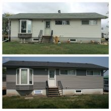 Renovation - Vinyl Siding - Vinyl Shakes - Insulation - Soffit - Fascia - Eavestrough