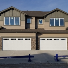 New Construction - Vinyl Siding - KWP Trim and Panel - Brackets -  Soffit - Fascia - Eavestrough - Regina, SK.