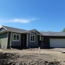 New Construction - Hardie Siding - Hardie Trims - Vinyl Shakes - Soffit - Fascia- Eavestrough